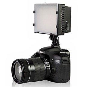 Nanguang Cn-160 On Camera Led Video Light For Camcorder Dv Camera (Black)