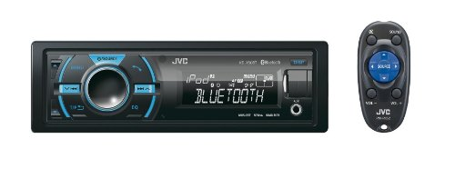 JVC KD-X50BT Digital Media Receiver mit USB/Dual-Aux und Bluetooth schwarz