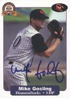 Mike Gosling Arizona Diamondbacks 2001 Arizona Fall League Autographed Hand Signed... by Hall+of+Fame+Memorabilia