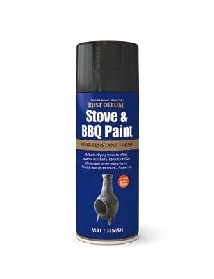 400ml Stove Bbq Paint Black from Tor Coatings Ltd