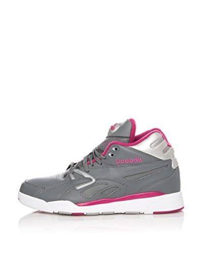 Reebok Sneaker Alta Pump Axt Plus Mid [Grigio/Rosa]