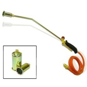 "Propane Turbo Torch - 3 Nozzles - Turbo-Blast Trigger with 60"" Hose"