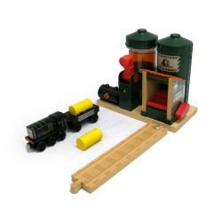 Thomas And Friends Wooden Railway - Fuel Depot