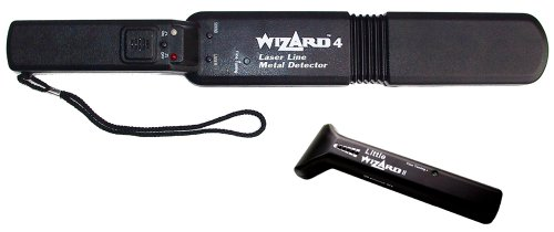 Lumber Wizard 4 Laser Line Metal Detector Wand With Free Little Wizard 2