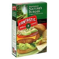 Fantastic Foods Natures Burger, 10 oz Boxes, 3 pk