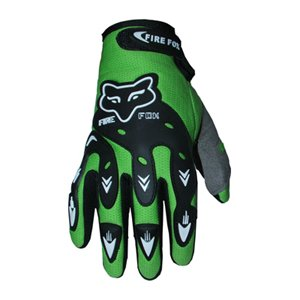 ATV Street Bike Motorcycle Gloves 07 Green by X4