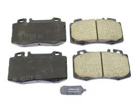 Mercedes r129 SL 500 600 Brake Pad Set Front CERAMIC Akebono friction linings