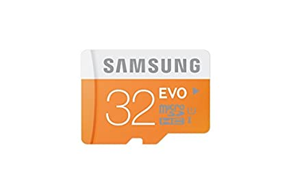 Samsung EVO 32GB MicroSDHC Class 10 (48MB/s) Memory Card (With Adapter)