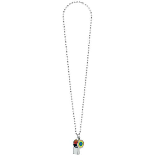 Rainbow Whistle Necklace
