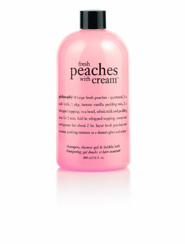 Philosophy Fresh Peaches with Cream Gel, 16-Ounce