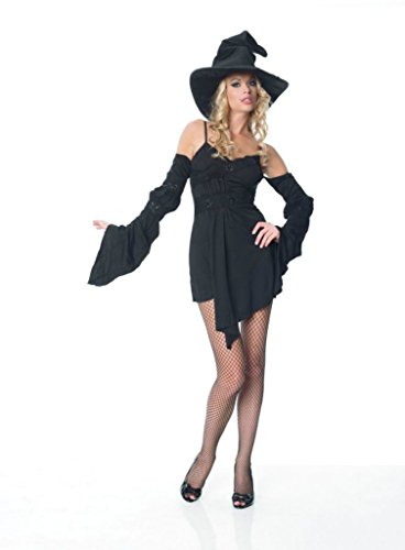 Leg Avenue Womens Witch Wizard Outfit Fancy Dress Sexy Costume