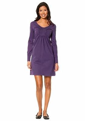 Arrival Damen-Kleid Babydollkleid Violett