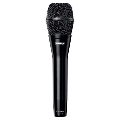 Shure Ksm9Hs Dual-Diaphragm Vocal Condenser Microphone, Hyper-Cardioid