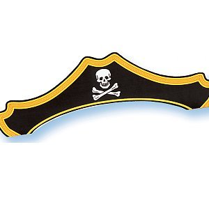 Buried Treasure Pirate Hats - 1