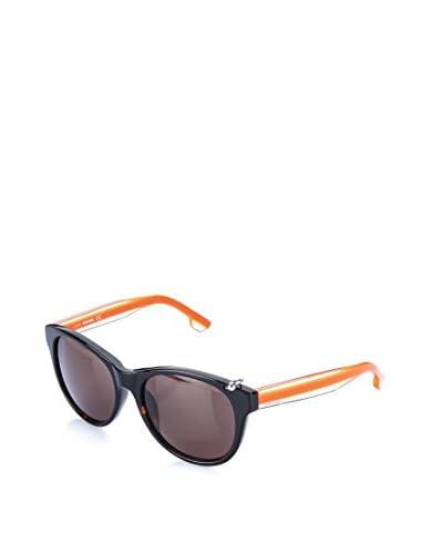 Diesel Sonnenbrille DL0049 (55 mm) schwarz/orange