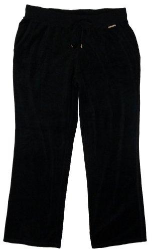 MICHAEL Michael KorsMichael Kors Velour Pants Black 1X