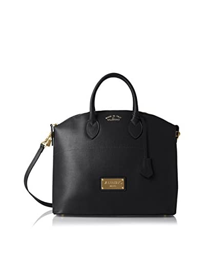 Valentino Bags by Mario Valentino Women's Bravia Satchel, Black