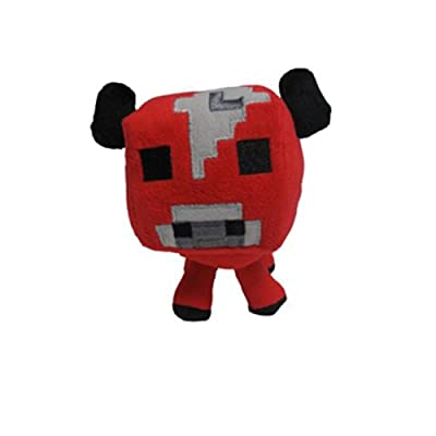 Minecraft 7 Plush Toy Animal Baby Mooshroom by Character Options