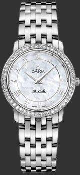 Omega Women's 413.15.27.60.05.001 De Ville Prestige QuartzDiamond Bezel Watch