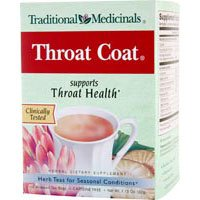 Traditional Medicinals, Organic Throat Coat 16 Tea Bags