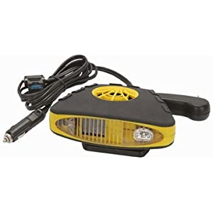 12 Volt Rubberized Heater with Fan