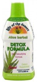 Lily Of The Desert, Aloe Herbal Detox Formula 32 Fl Oz