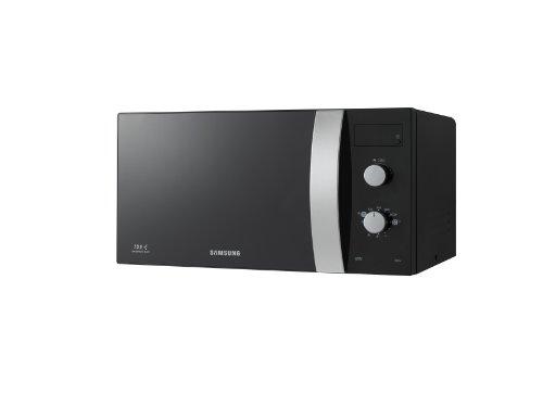 Samsung GE82V-BB/XEG - Microondas con lavado automático, grill, interior de cerámica (23 litros, 800 vatios), color negro