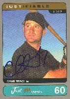 Chad Tracy Arizona Diamondbacks 2002 Just Minors Autographed Hand Signed Trading... by Hall+of+Fame+Memorabilia