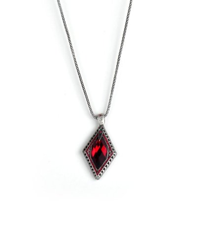 JDX Red Color Fashion Necklace For Women_ and Girls 18''