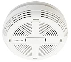 Deta 1113 Mains Smoke Alarm with Battery Backup (Optical/Photoelectric) by Deta