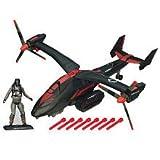 G.I. Joe 30th Anniversary Black Dragon VTOL With Cobra Air Trooper