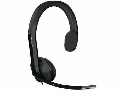 BND MICROSOFT 7YF 00001 MICROSOFT HEADSET PC MULTIMEDIA HEADPHONE MONAURAL WIRED MONO