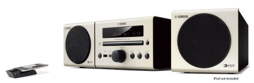 Review and Buying Guide of Buying Guide of Yamaha MCR140 Hi Fi CD Receiver with Speakers, 2 X 15 W, USB, Airwired and DAB - White