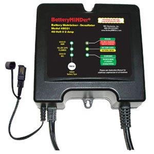 Batteryminder Charger/Maintainer/Desulfater - 2 Amps For 48V Systems, Model# ...