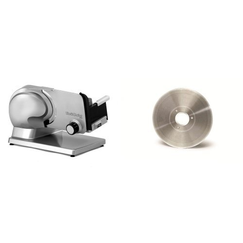 Chef's Choice 615 Premium Electric Food Slicer with Extra Non-Serrated Blade (Chefs Choice Meat Slicer Blade compare prices)