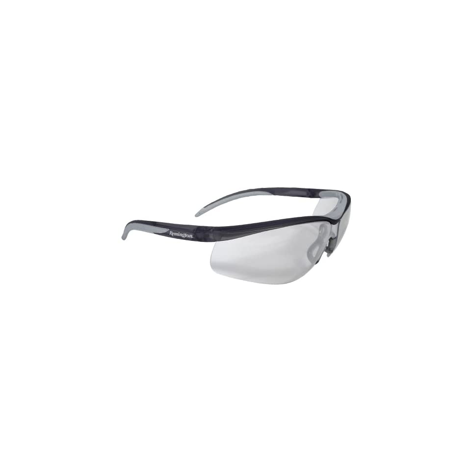f03a2b6a784 Remington T 71 Dual Mold Shooting Glasses (Clear Anti Fog Lens Black Frame)