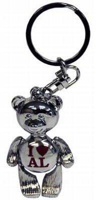 Alabama Metal Keychain- Teddy Bear Case Pack
