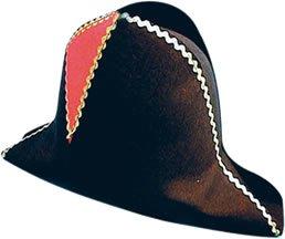 [Pams Napoleon Felt Hat Adult Sized] (Napoleon Hat Costume)