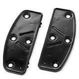 H-D Black Rider Footboard Pans 51322-08