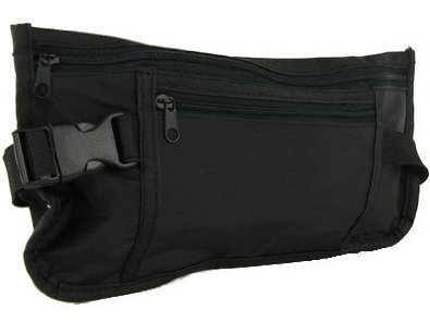 Security & Money Belt Waist Bum Bag - Trevisco Travel Accessory Wallet