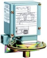 """Square D By Schneider Electric 9012Gaw1Z. Pressure Switch, 0.2-10Psig, 1P, 1/4"""" 18Nptf"""