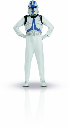 Star Wars Clone Trooper Action Suit, Size 8 to 10 - 1
