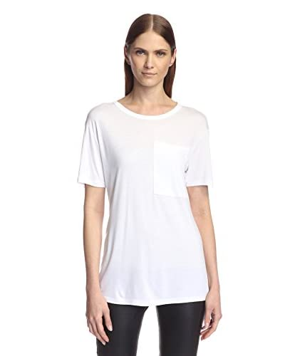 Derek Lam 10 Crosby Women's Short Sleeve Pocket Tee