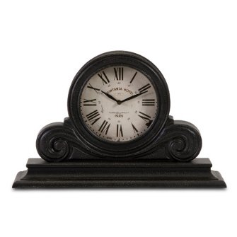 IMAX Mantle Clock, Black