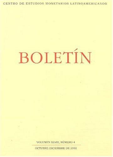 Boletin De Centro De Estudios Monetarios Latinoamericanos