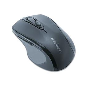 Kensington 72354 - Pro Fit Wireless Mid-Size Mouse, 2.4GHz, Black