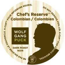 Wolfgang Puck Chef's Reserve Colombian Coffee 24 K-Cups (Pack of 4)