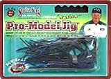 Strike King Ratlin Pro-Model Jig Bait (Black/Blue, .25-Ounce)