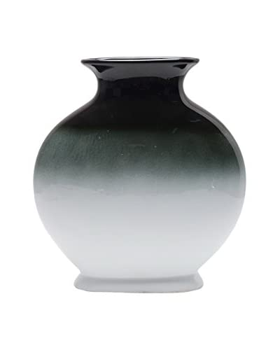 Three Hands Ceramic Vase, Blue/White