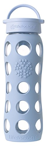 Lifefactory 22-Ounce Beverage Bottle, Sky Blue